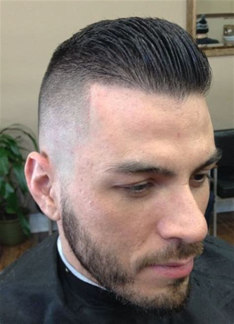 High fade back slick   beast hair styles   Pinterest
