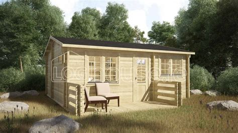 2 6 Cabin Bed by Eco One Bed B Log Cabin 6m X 5 2 Loghouse Ie