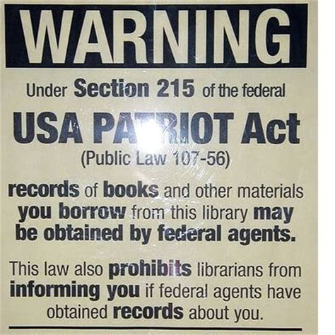 section 215 of the usa patriot act surveillance reform is a must for patriot act