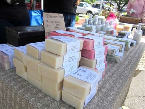 Selling Handmade Soap - darien farmers market goat s milk soap proves