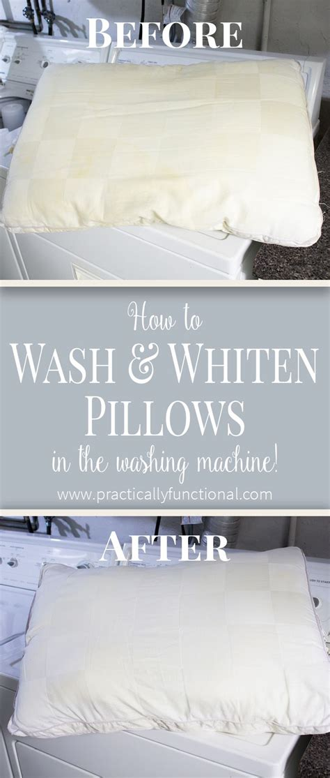 Cleaning Pillows With Vinegar by 25 Best Ideas About Wash Pillows On Whiten