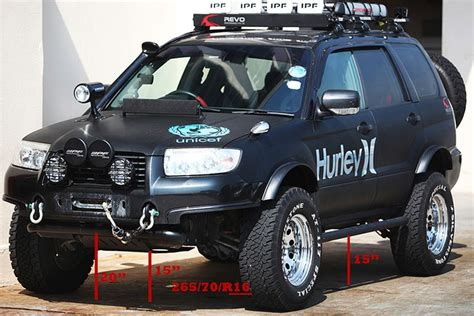 custom lifted subaru proper lifted forester post apocalypse cars pinterest