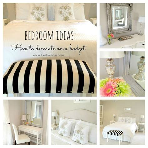 cheap decorating ideas for bedroom budget bedroom decorating ideas livelovediy my house