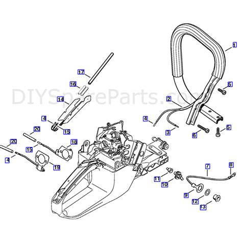 stihl ms 361 parts diagram stihl ms 361 chainsaw ms361 wvh parts diagram heating