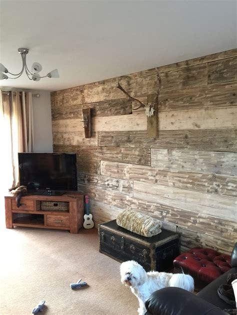 scaffold board wall hallwayideasnarrow diy shelves