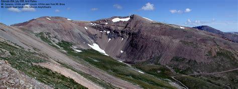 mt lincoln colorado u s mountains route descriptions mt bross mt