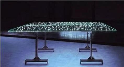 tavolo illuminato led il tavolo illuminato la promenade blogzine di