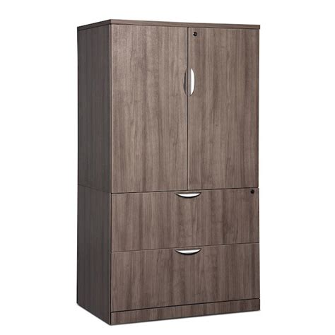 lateral file cabinet with storage classic locking storage cabinet lateral file combo