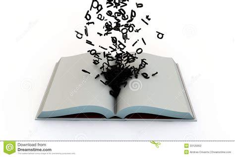 when the come out a cottonbloom novel books open boek met brieven stock illustratie illustratie