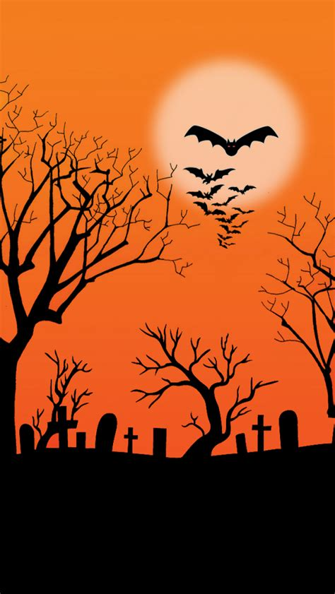 halloween themes for phones abstract halloween background 123mobilewallpapers com