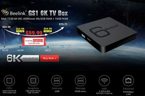 android tv hack beelink gs1 tv box firmware android nougat 7 1