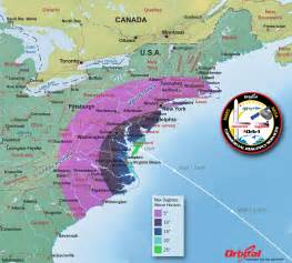 rocket launch thursday visible from us east coast