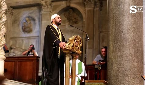 the imam of time a novel of then and now books christian clergy welcomes islam in church then bows to it
