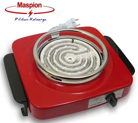 Kompor Listrik Maspion 300 600 Watt Original jual maspion s 300 kompor listrik harga