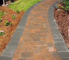 beautify your landscape or garden with a brick walkway her view from home