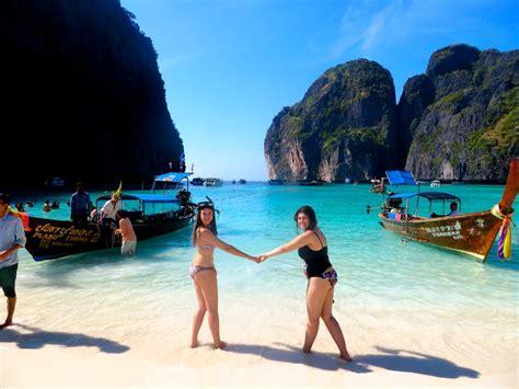 ko phi phi  partying  paradise adventure lies