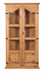 rustic pine corner cabinet tres amigos world imports