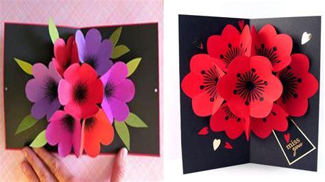 Origami Flower Pop Up Card