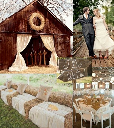 rustic wedding ideas 10 ideas you can actually do