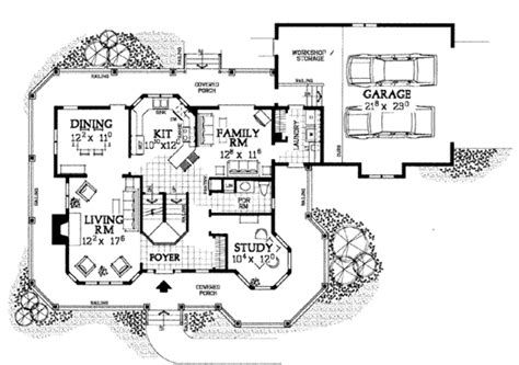 victorian style house floor plans victorian style house plan 4 beds 2 5 baths 2174 sq ft plan 72 137