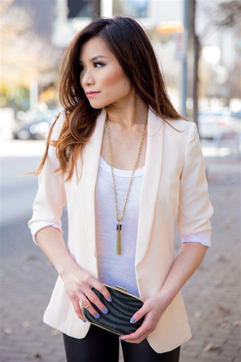 blush colored blazer blush colored blazer tulips clothing