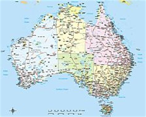 printable australian road maps australia vector road map