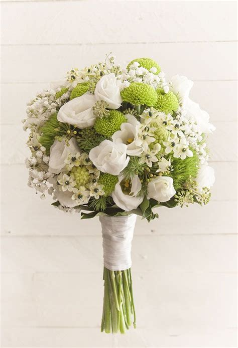 fiori verdi matrimonio oltre 25 fantastiche idee su bouquet da sposa bianco su