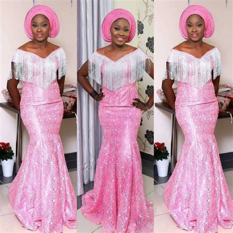 aso ebi lace styles 15 cord lace aso ebi styles you can rock this weekend