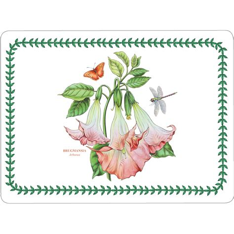 Portmeirion Botanic Garden Placemats Portmeirion Botanic Garden Placemat Set Of 4 Louis Potts