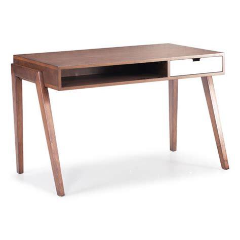 emily mid century modern desk moss manor