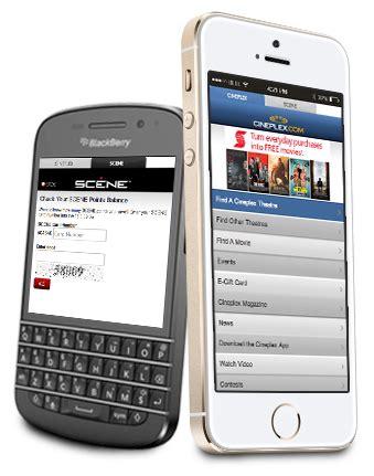 cineplex sms cineplex com mobile