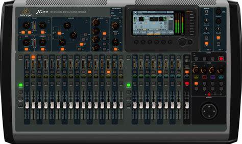 Mixer Audio 32 Channel behringer x32 digital 32 channel mixer console