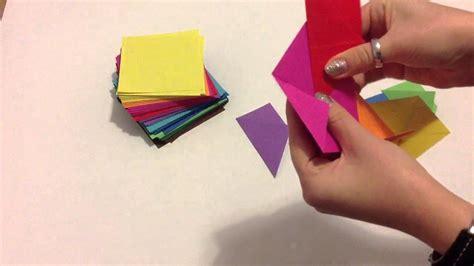 Origami Basteln Mit Papier by Origami Falten Aus Papier Basteln
