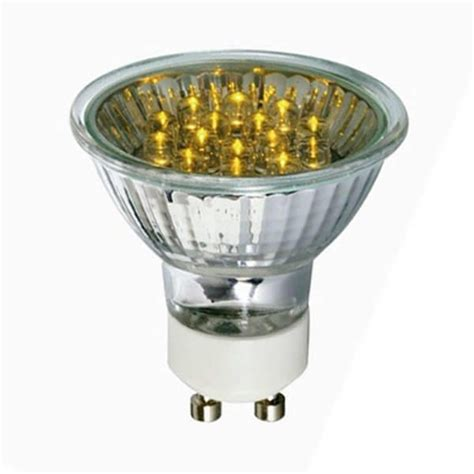 Gu10 Led Light Bulbs Gu10 Led Light Bulb 0 8 Watt Yellow From Litecraft