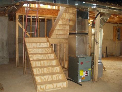 how to build basement stairs basement remodeling contractor