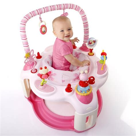 Baby Jumper Pink pink bright starts bounce baby activity center bouncer