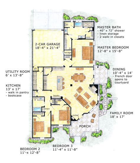 concept house plans conceptual designs open concept ranch floor plan