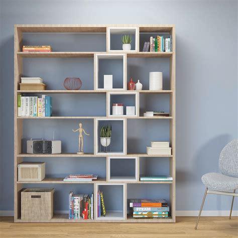 libreria per soggiorno libreria da parete per soggiorno in legno 125x184cm coventry