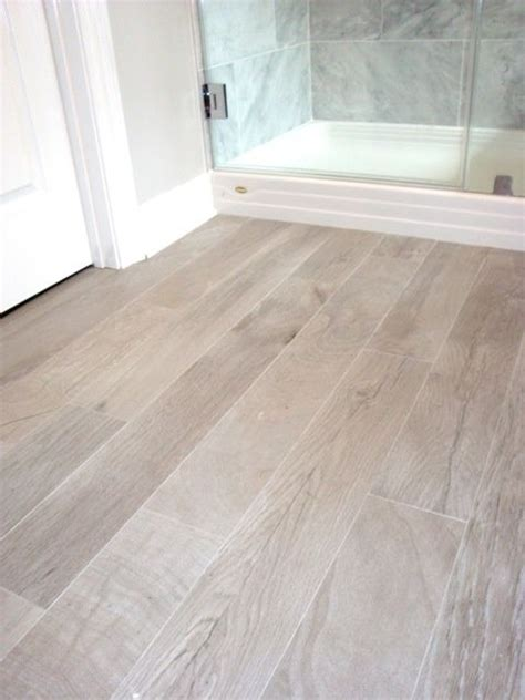 tiling on wooden floors bathroom bathrooms italian porcelain plank tile faux wood tile