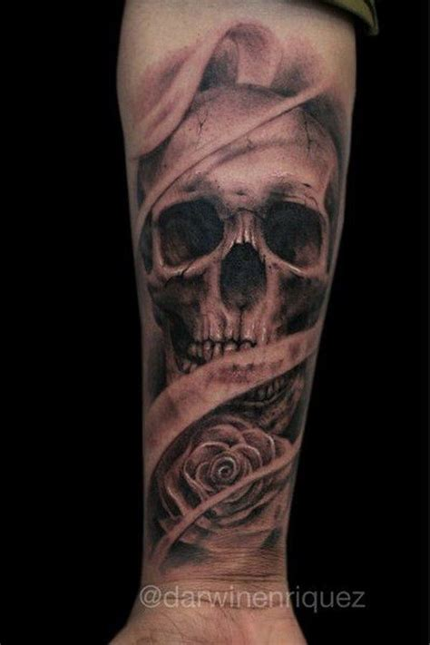 skull wrist tattoo designs 30 awesome forearm designs skull tats
