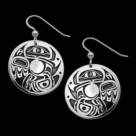 Journey Of The Soul sterling silver journey of the soul earrings by metal arts