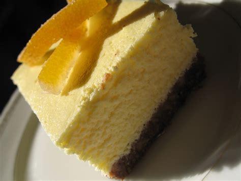 Biscuit Cake cheese cake l 233 ger fromage blanc 224 l orange fond chocolat 233