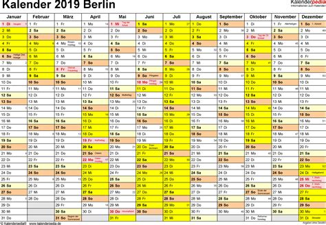 kalender  zum drucken mit ferien kalender