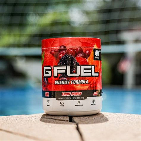 g fuel fruit punch g fuel fruit punch tub 40 servings elite energy and
