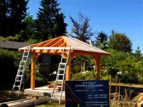How To Build A 4 Sided Roof Roof System Gazebo I Mov