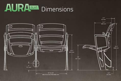 stadium bench seating dimensions aura slat stadium chair sc interkal