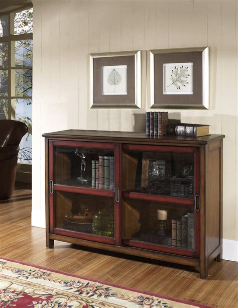 furniture sliding glass door bookcase with classic wood