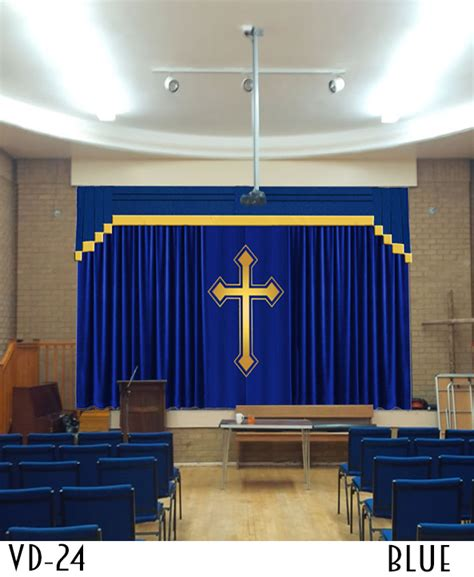 church curtains for sale huge cross and your church logo