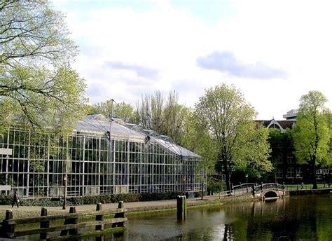 Amsterdam Botanical Garden Hortus Botanicus Botanical Garden In Amsterdam Amsterdam Info