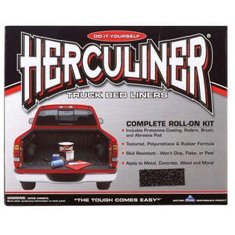 brush on bed liner herculiner hcl1b8 brush on bed liner kit reviews